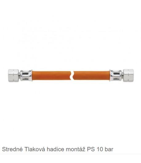 Plynová hadice 2x L-závit 80cm
