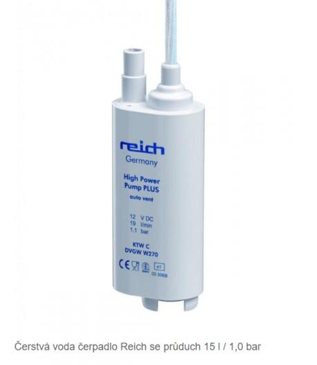 Ponorné vysokovýkonné čerpadlo REICH plus 19l/min 1,1bar