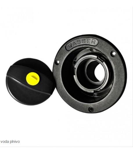 Plnící hrdlo FF-system 40 mm s krytem, černá