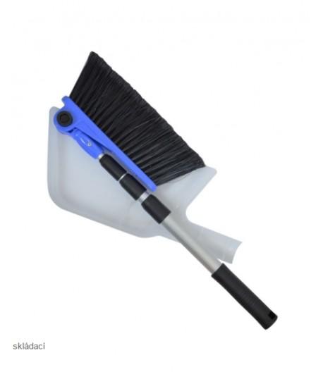 Teleskopický kartáč s lopatkou