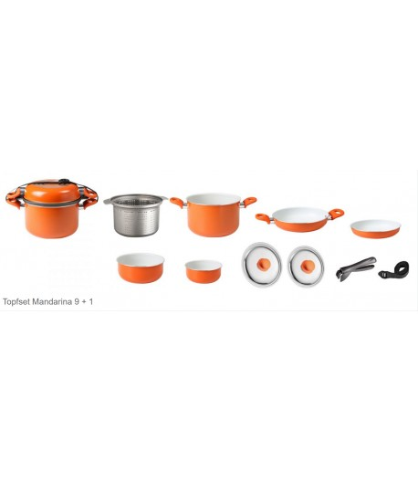 Top set Mandarina 9 + 1