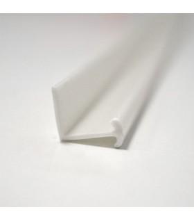 Záclonová T lišta plastová