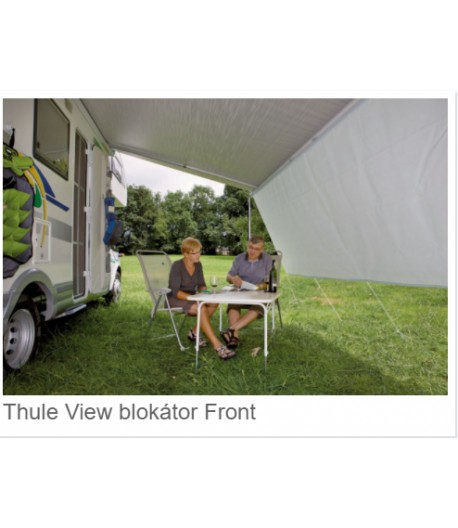 Thule View čelní stěna proti slunci