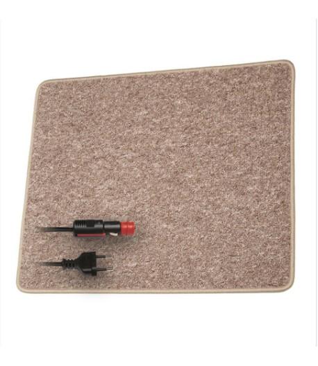 Vyhřívaný koberec hnědý 100cm