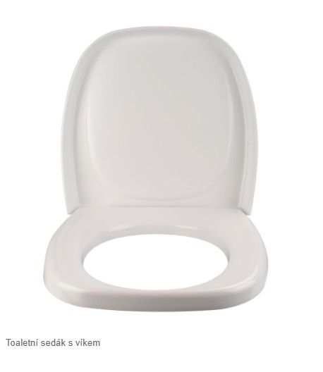 Toaletní sedák s víkem C2, C3, C4