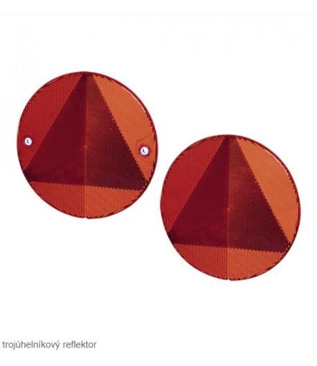 Odrazka červená - šroubovací
