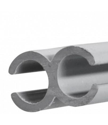 Lišta 100cm šedá pro propojení dvou kedrů