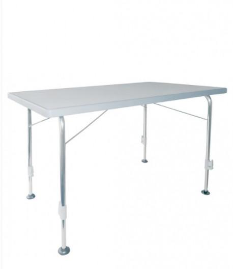 Kempingový stůl Stabilic - světle šedá