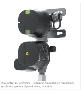 Truma DuoControl CS plynový regulátor s crash senzorem vertikální