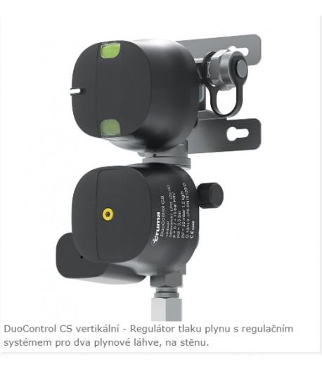 Truma DuoControl CS plynový regulátor s crash senzorem vertikální-rozbaleno