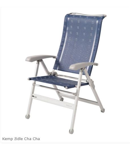 Kempová židle Dukdalf Cha Cha - modrá