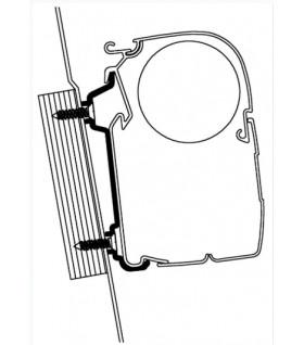 Boční adaptér pro markýzy Thule Omnistor na Ford Transit High Roof