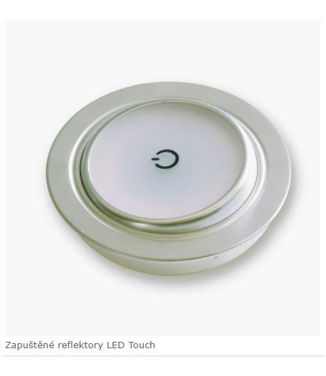 LED Dimatec zapuštěné bodové osvětlení Swing Touch