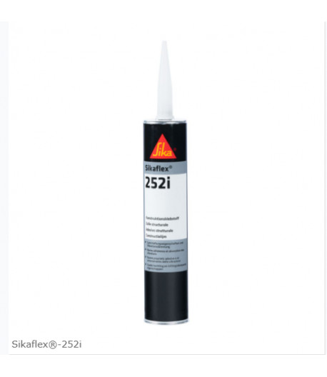 Stavební lepidlo Sikaflex 252i-černá