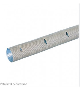 Teplovzdušná děrovaná trubka IR, 35 mm