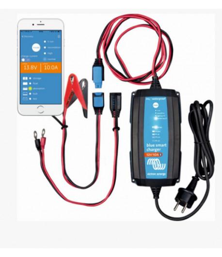 Chytrá nabíječka baterií BlueSmart 12V/10A IP65+DC konektor