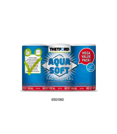 Toaletní papír Aqua Soft 6ks