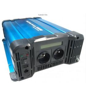 Měnič napětí 12V/230V 2000W,čistá sinusovka, Solarvertech FS2000-212