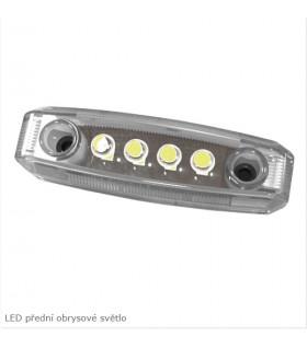 LED obrysové světlo-bílé