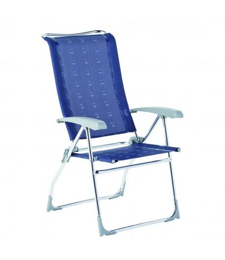 Kempingová skládací židle Aspen - modrá