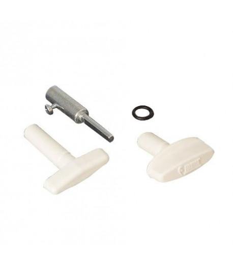 Náhradní klička s prodloužením pro Fiamma Turbo Vent, Premium, P3, Vent