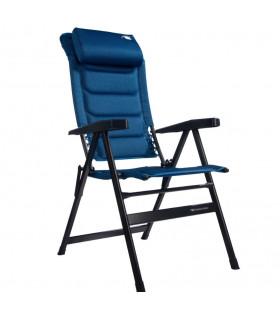 Kempingové křeslo HighQ Comfortable-modrá