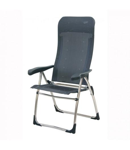 Kempingová skládací židle Crespo AL / 315- šedá