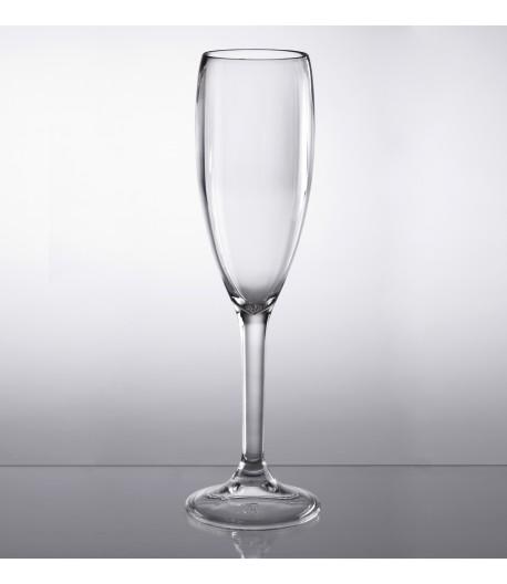 Sada sklenic na šampaňské z polykarbonátu