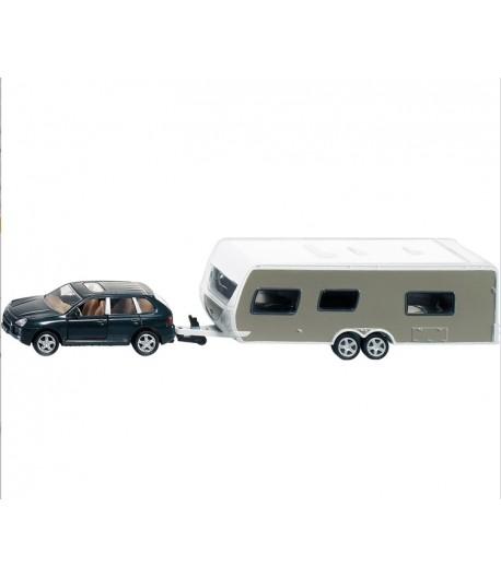 Model auta s karavanem