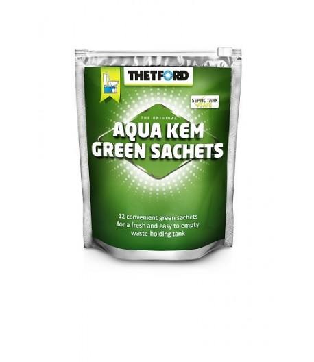 Thetford Aqua Kem Green sáčky (se zipovým zavíráním)